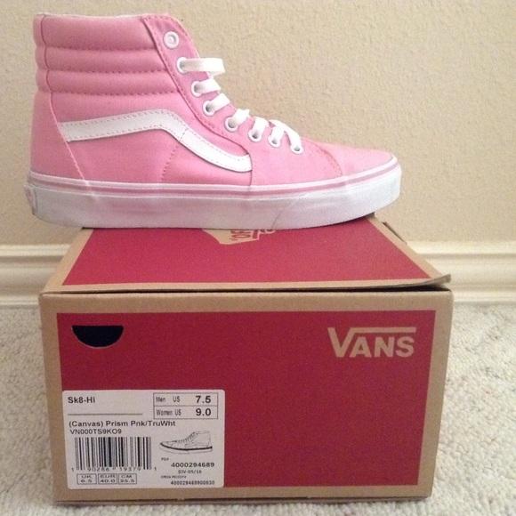 3688820b5336e4 Prism Pink Sk8 Hi s