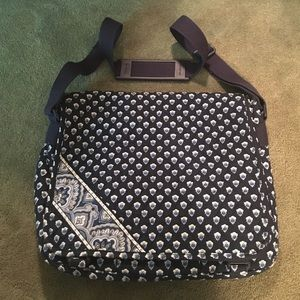 Vera Bradley Cross Body Messenger/Laptop Bag
