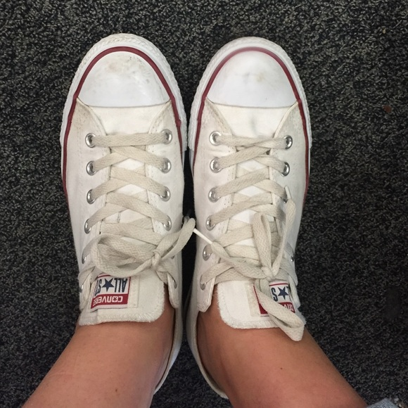 9193e3f07c98 Converse Shoes - White converse size women s 10 Price is FIRM