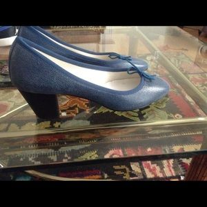 Repetto Shoes - Repetto Heeled Ballet NWOT