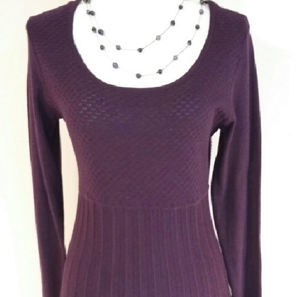 66% off Daisy Fuentes Sweaters - Sale - Daisy Fuentes long purple ...