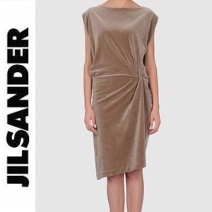 Jil Sander Dresses & Skirts - Jil Sander velvet dress