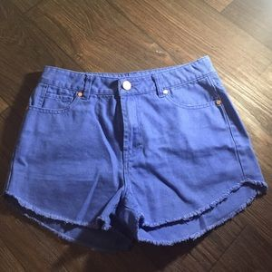 refuge Pants - Colored High Wasted shorts 💕