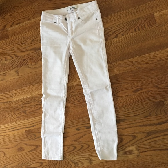 68% off DKNY Other - white jeans from Hannah's closet on Poshmark