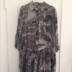 Band of Outsiders Dresses & Skirts - Boy By Band Of Outsiders Postcard Dress Size 1