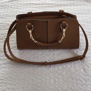 Handbags - ❌SOLD❌ TJMaxx Tan & Gold Structured Bag