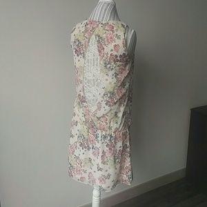 Benetton - drop waist dress