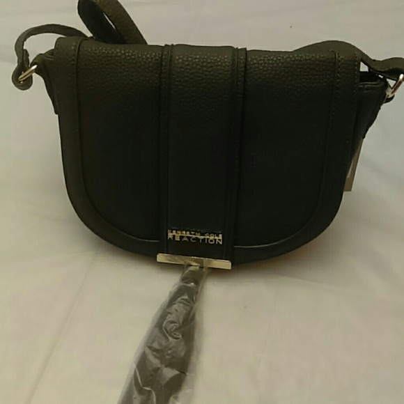 6526a76102c8 Norway Mini Saddle Bag With Tassel. NWT. Kenneth Cole Reaction