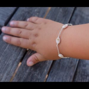 Other - Pink opal and Sterling silver bracelet