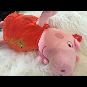 Peppa Pig Other - Peppa pig backpack SALE