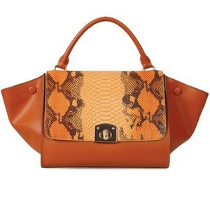 Handbags - Cuore & Pelle Caterina satchel. Genuine leather!