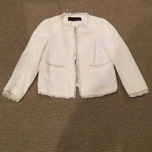 Off-white Zara basic blazer