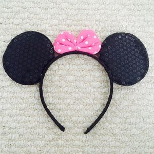 Sequin Minnie Mouse Ears