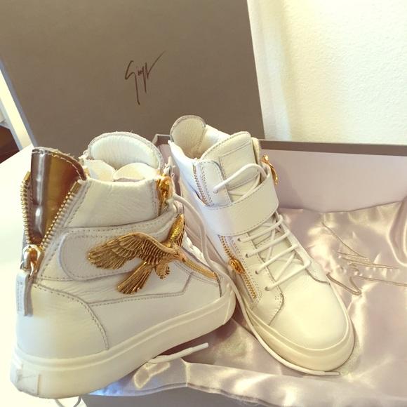 Giuseppe Zanotti London Eagle Sneakers