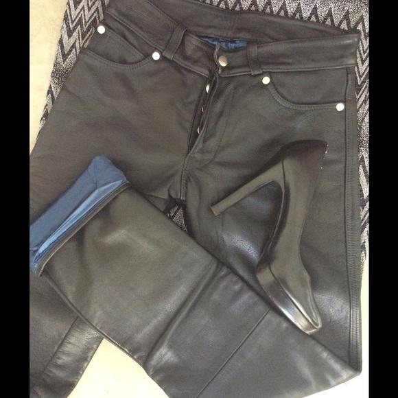 da89dadc0c Custom Pants - Custom leather jeans Cut from Levi 501. Never worn