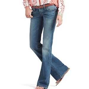 Lucky Brand Denim - Lucky Brand Merry Meggie Jean 4/27 Distressed
