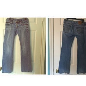 Lucky Brand Jeans - Lucky Brand Merry Meggie Jean 4/27 Distressed