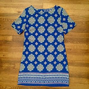 Ovi Dresses & Skirts - Blue patterned Ovi dress.