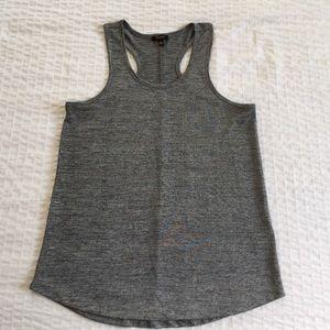 Tops - Cupio Lightweight Grey Marled Knit Tank in Medium
