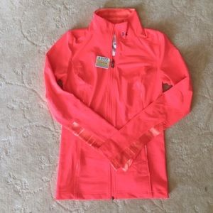Under Armour Full Zipper Fitted Jacket w/Pockets
