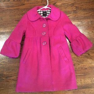 Takara Jackets & Blazers - Precious magenta pea coat