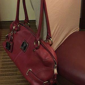 d8ea0cf2872a Tignanello Bags - Tignanello - Red Leather Purse