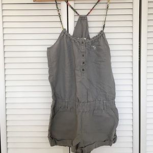 Abercrombie & Fitch Dresses & Skirts - gray abercrombie romper