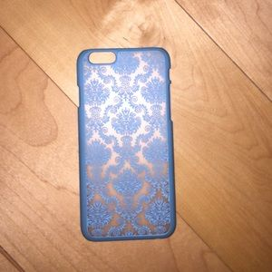 Accessories - Blue iPhone 6/6S case