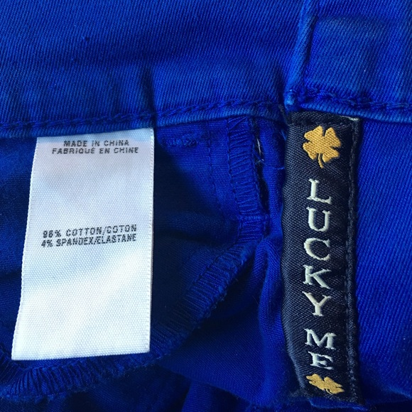 Lucky Brand Jeans - Lucky Brand Charlie Capri 27/4 Cobalt Blue Cropped