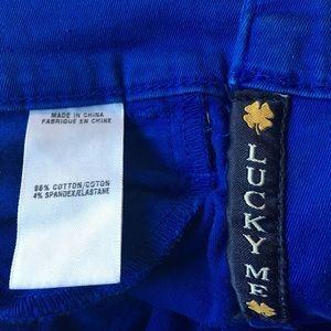 Lucky Brand Jeans - Lucky Brand Charlie Capri 27/4 Cobalt Blue Cropped