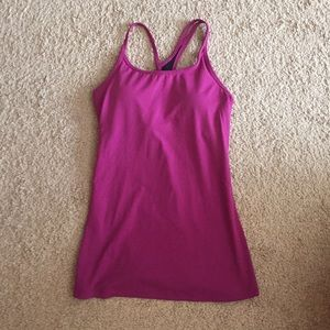 Fabletics mulberry Omemee tank, XS