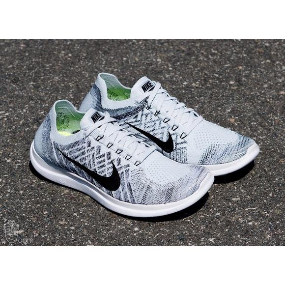 24285d2f26b Nike Free 4.0 Flyknit Sneakers