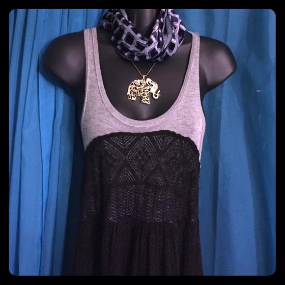 Kookai Dresses   Skirts - KOOKAI Two-Tone Light Knit Dress-Size 2 768d2da81