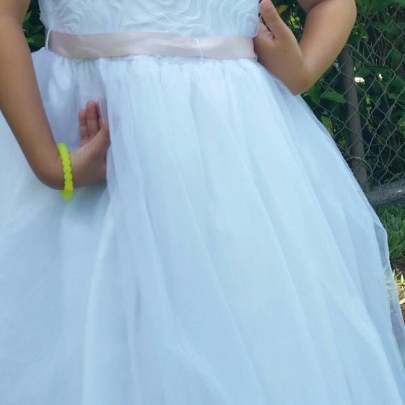 eb66c7361e Bella by Marmellata Other - Bella by Marmellata Girl White Flower Girl Dress  7