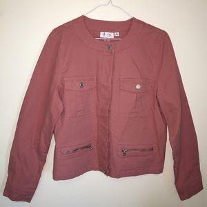 Denim & Co Jackets & Blazers - Medium Denim & Co military style jacket coat