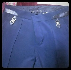 ZARA navy blue pants. Brand new with tags. Size XS