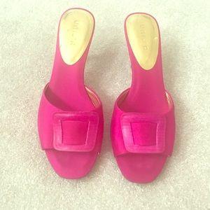 Unisa Shoes - ❤Unisa Pink Satin Heels Sz 7.5