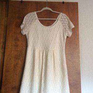 Romy Dresses & Skirts - NWT Romy cream dress