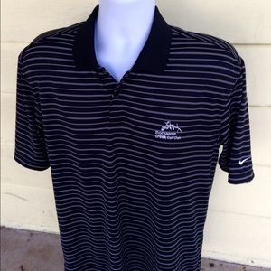 Nike Other - NIKE Golf wicking black casual golf polo shirt