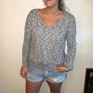 Jessica Simpson Sweaters - Jessica Simpson Woven top with lace!!