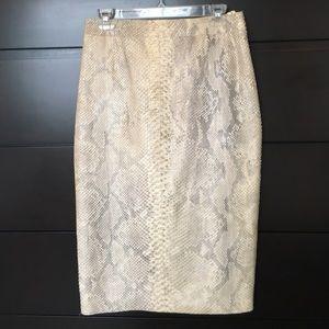 Yves Saint Laurent Dresses & Skirts - NWT YSL PYTHON SKIRT (VERY RARE!)