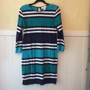 Classic striped Tee dress Andrea Jovine