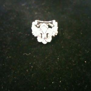 Jewelry - Sterling silver fleur-de-lis ring