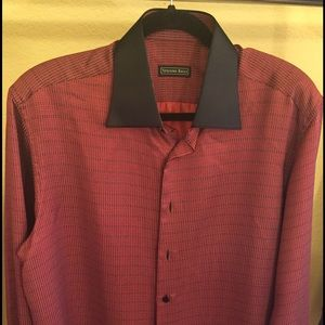 Stefano Ricci Other - Stefano Ricci Men's Shirt Original France Red