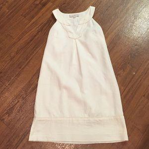 LOFT White Dress