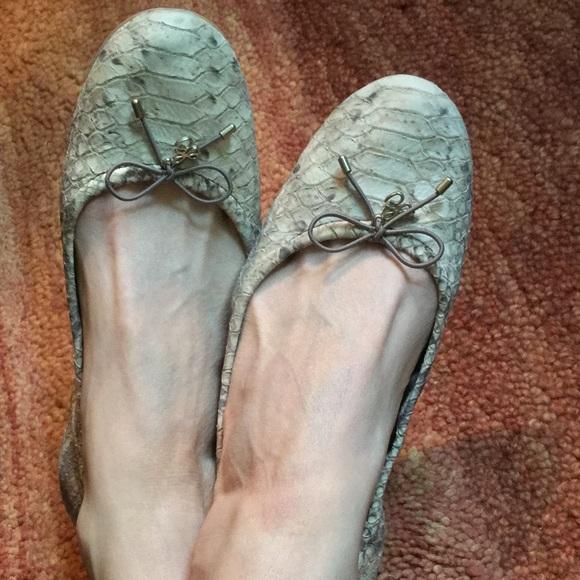0e9747b48a6c3 Sam Edelman Felicia Snake Print Ballet Flat 🎀. M 57a7c23741b4e093270110de