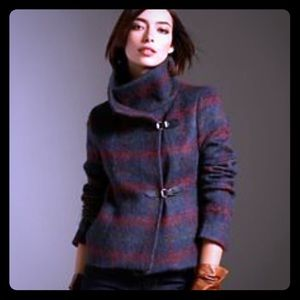 Talbots Wool Plaid Jacket Coat