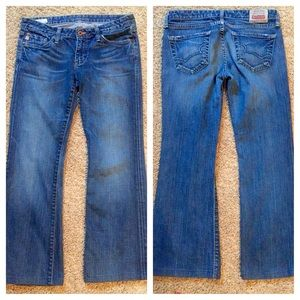 Big Star Denim - Big Star Sweet Low Rise Bootcut Jeans - size 27