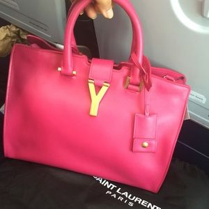 Brand New YSL Classic Y Purse in Hot Pink!!!