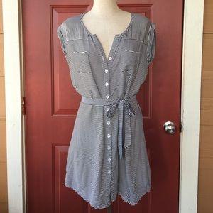 Jack by BB Dakota Dresses & Skirts - Jack by BB Dakota Striped Button Down Dress